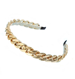 Mavi Bandz glam chain headband - gold