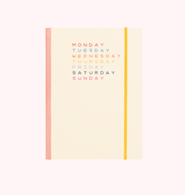 Talking out of Turn weekdays planner