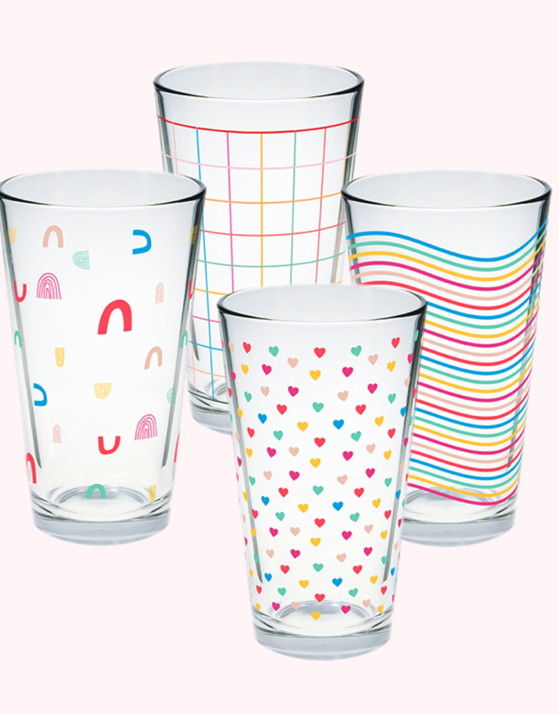every day pint glass set