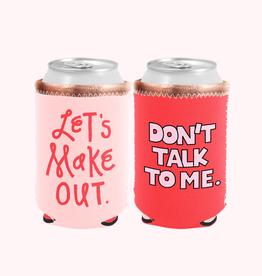 Talking out of Turn lets makeout reversible koozie