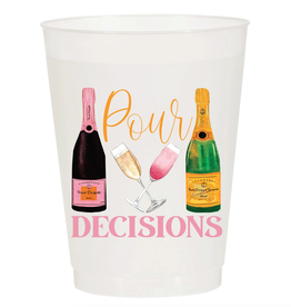 Sip Sip Hooray pour decisions cup stack 10