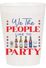 Sip Sip Hooray we the people cup stack 10