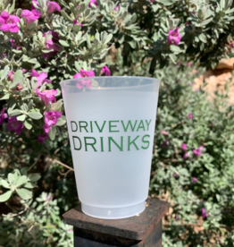 Sip Sip Hooray driveway drinks cup stack 10