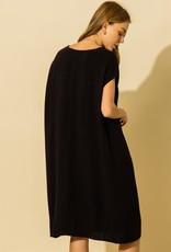 gigi oversized v neck tshirt dress
