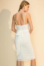 pizo front slit dress