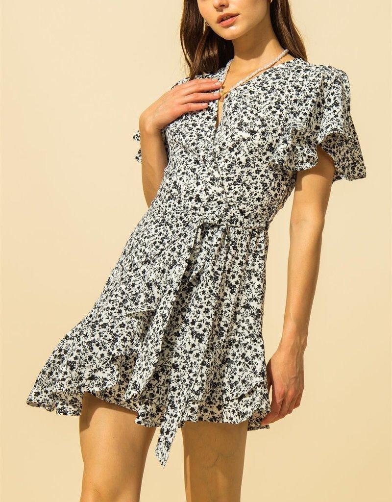 zaha wrap dress