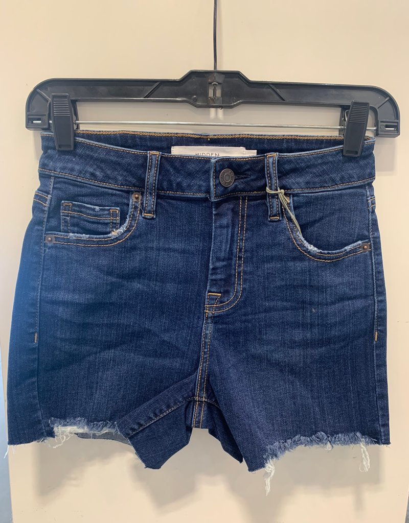 kenzie mid rise fray short LC