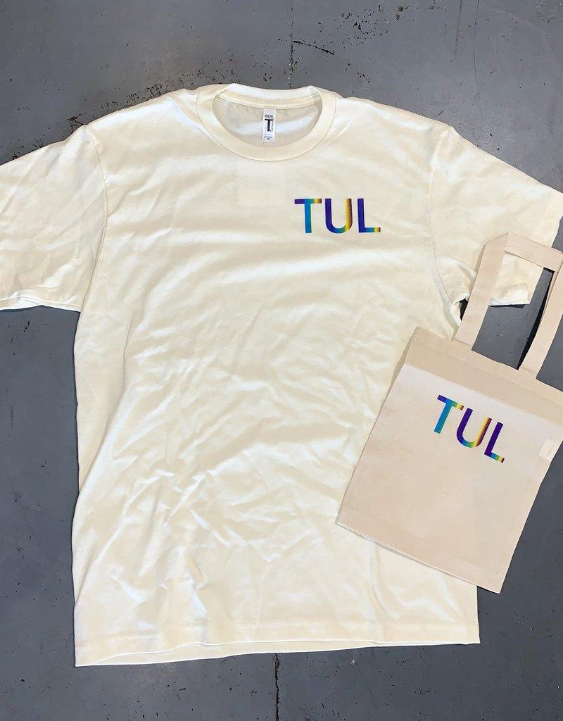 R+R TUL limited edition pride tee & tote