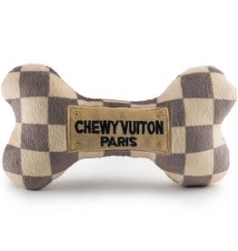 Haute Diggity Dog checker chewy vuiton bone dog toy - large