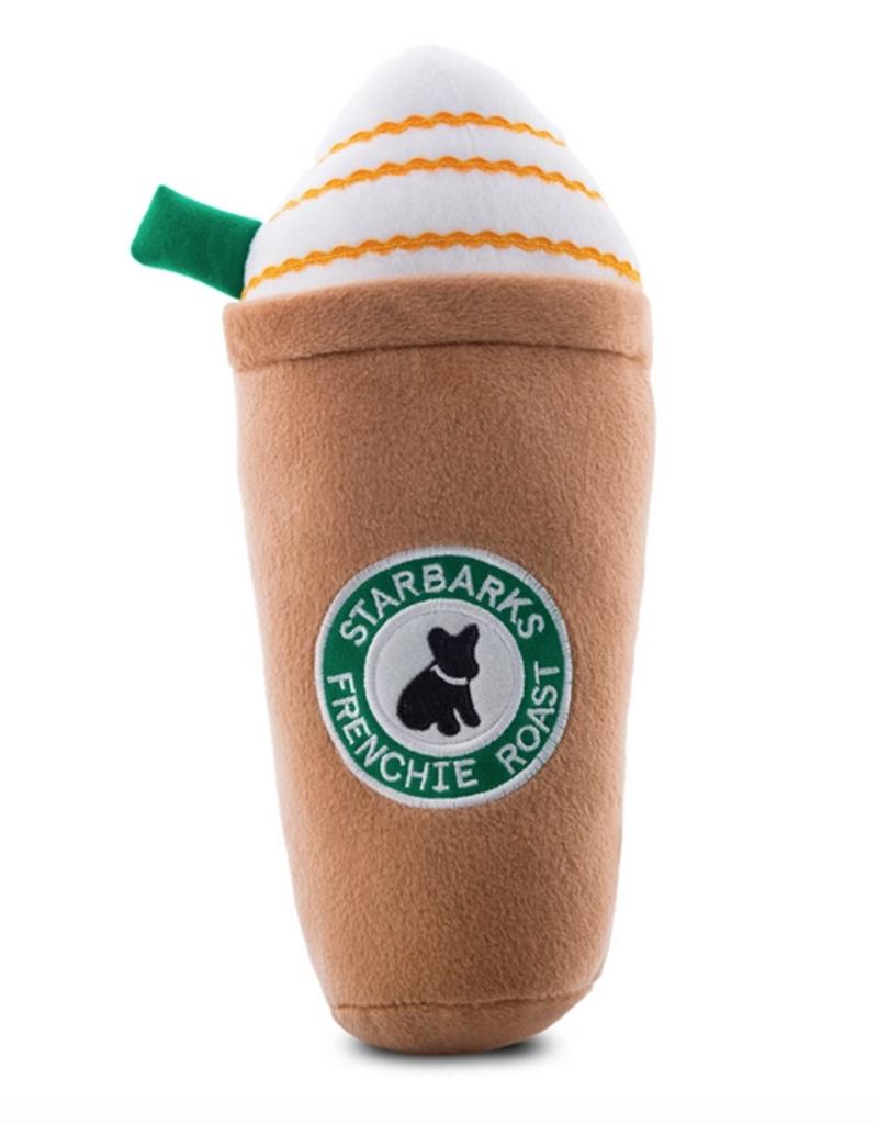 starbarks frenchie roast dog toy - x large