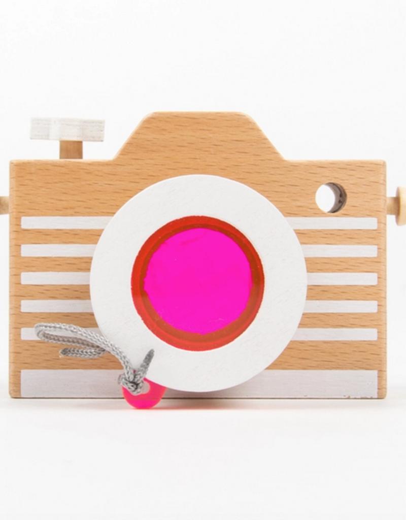kaleidoscope wooden play camera