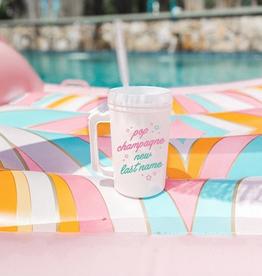 pop champagne mug