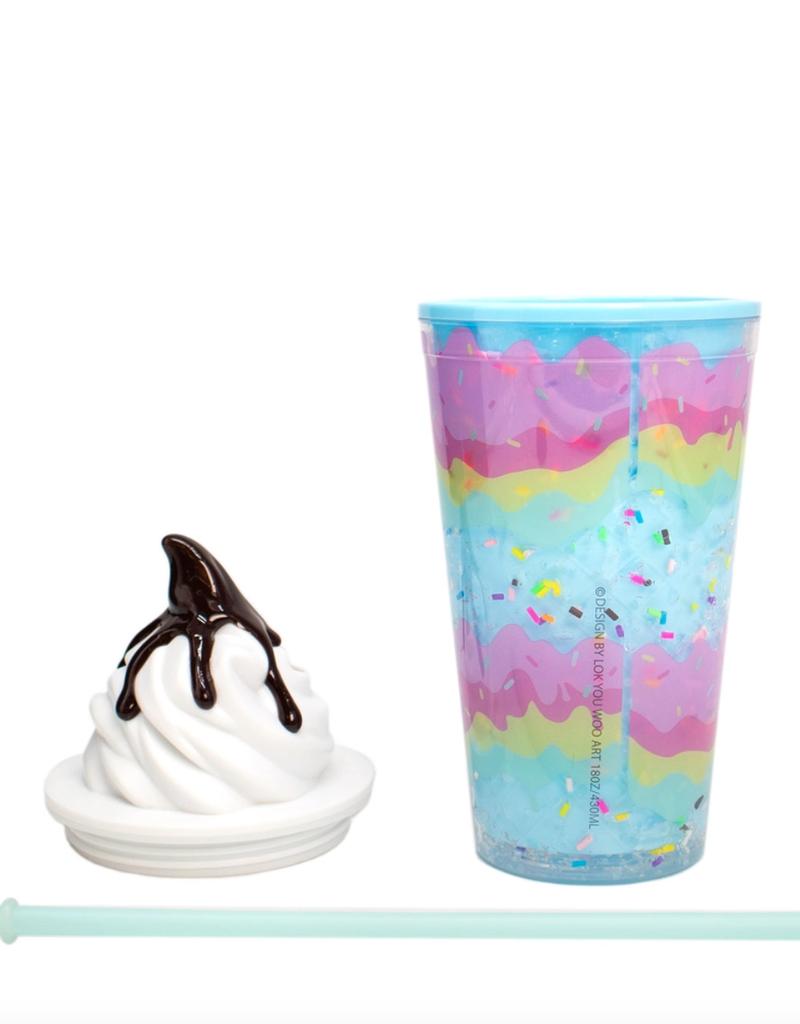 soft serve ice cream tumbler