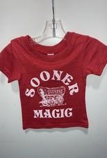 Opolis ou sooner magic tri crew kids tee