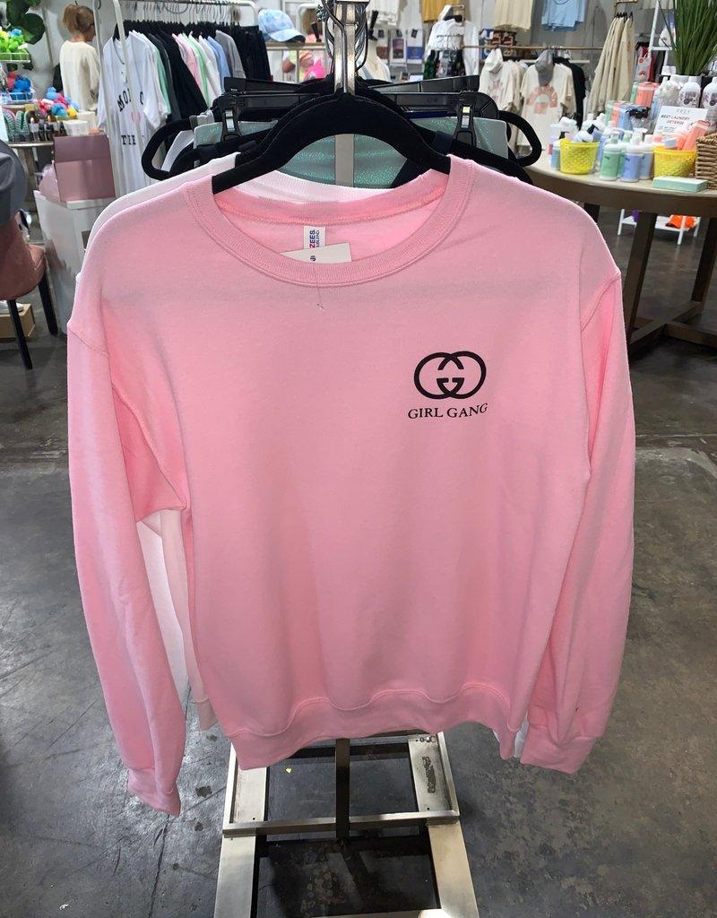 R+R youth girl gang sweatshirt