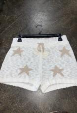 sweater knit star short