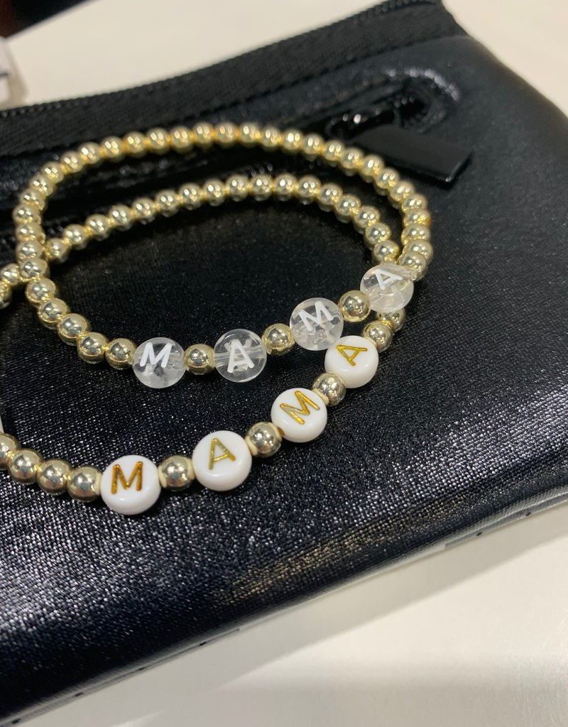 bddesignsandco mama initial bracelet