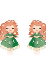 lilies & roses kids princess hair clip set