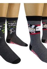 mens 2 pack crew socks