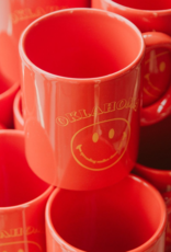 LivyLu oklahoma smiles mug - orange