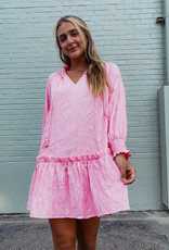 cora smocked tunic dress