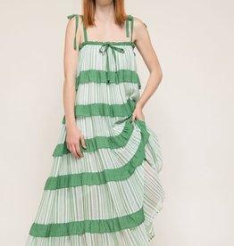 kelly square neck maxi dress LC