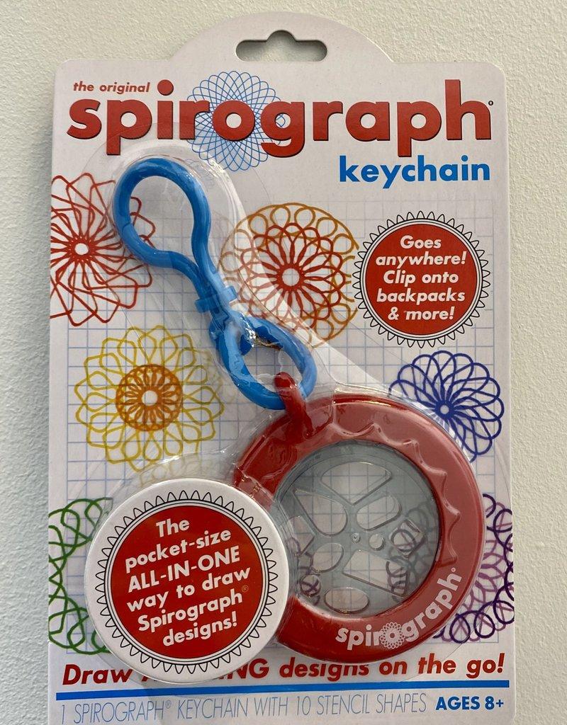 spirograph keychain