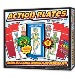 action plates design set