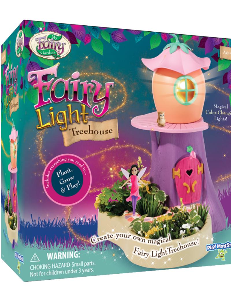 my fairy garden treehouse