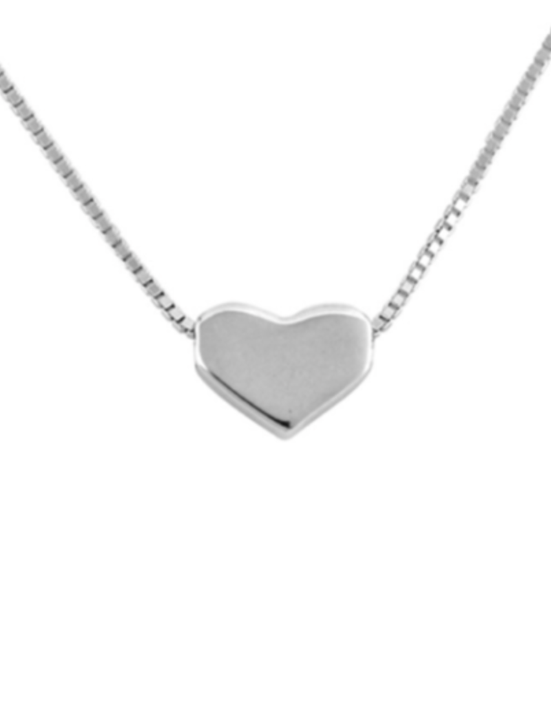 bddesignsandco heart of silver necklace