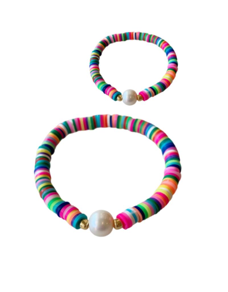 bddesignsandco mama + mini rainbow bracelet set