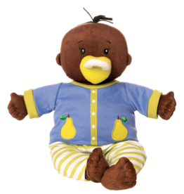 baby stella brown doll & brown hair