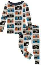 kickee pants moms camera long sleeve pajama set