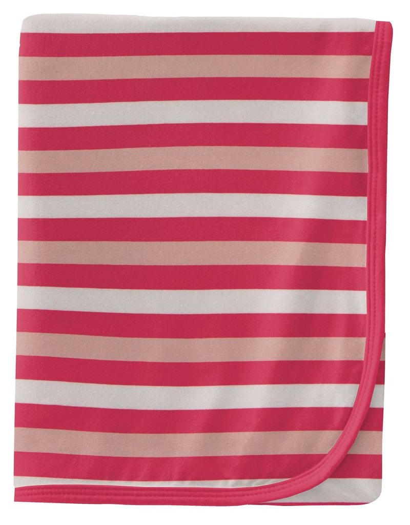 kickee pants hopscotch stripe swaddling blanket
