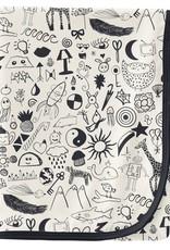 kickee pants doodles swaddling blanket