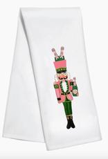nutcracker champagne towel