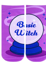 basic witch ankle socks