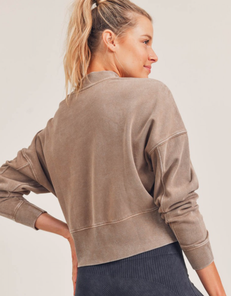 artesia cropped pullover