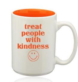 LivyLu treat people with kindness mug