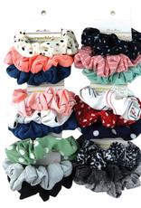 assorted 3 piece scrunchie set