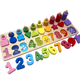 Magia Galaxy matching number board
