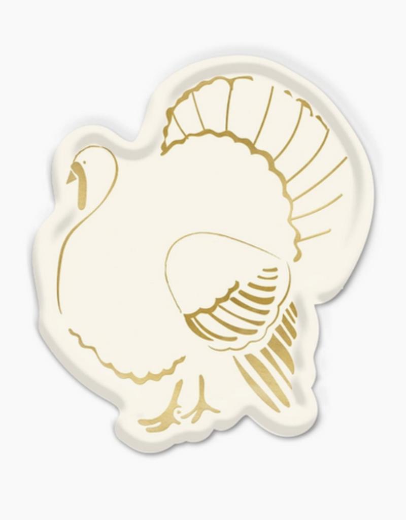 my minds eye golden turkey plate set