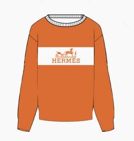 hermes sweater ornament