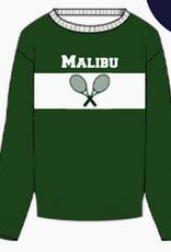 tennis sweater ornament