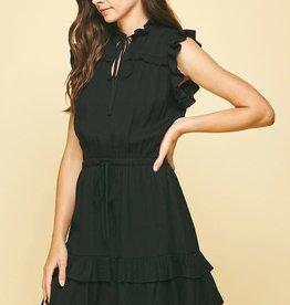 pinch all ruffled up mini dress