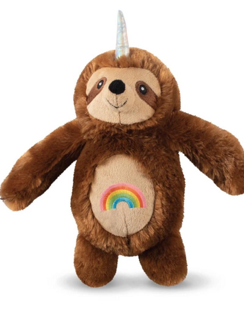 Fringe Studio rainbow slothicorn dog toy