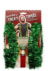 tacky tinsel suspenders