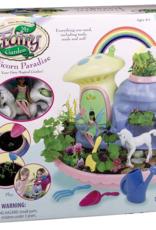 my fairy garden treehouse - unicorn paradise