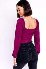 sweetheart bodysuit LC