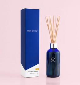 capri blue pineapple flower reed diffuser 8oz